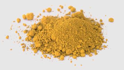 Foto Ossido di ferro colorante giallo